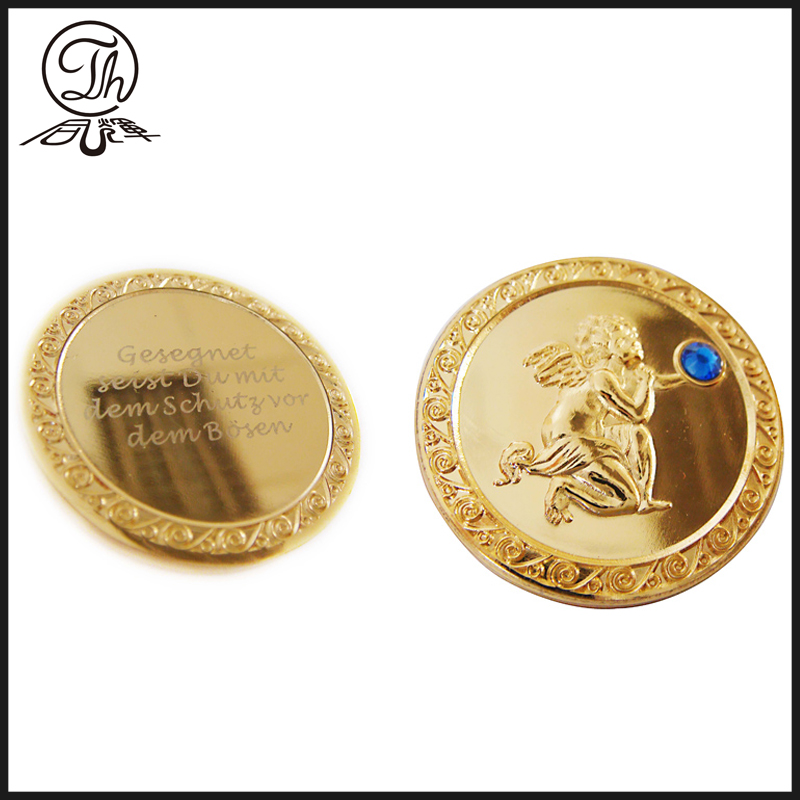 Gold Angel Coin