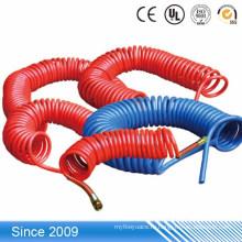 Дешевые Электроизоляционных материалов пружина шланг PU