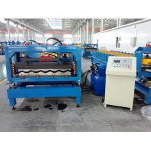 Rolo de telha frio formando máquina com sistema de controle PLC