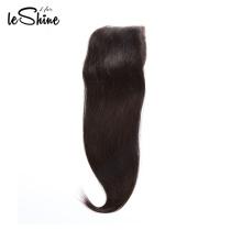 Qingdao cheveux humains brésiliens droit fermeture