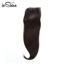 Qingdao Hair Human Straight Brazilian Closure