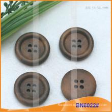 Natural Wooden Buttons for Garment BN8022