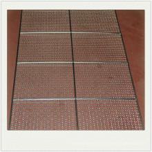 Plaque perforée / cuite en acier inoxydable perforée utilisée dans le four