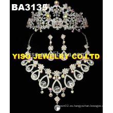 Conjunto de joyas de cristal personalizado
