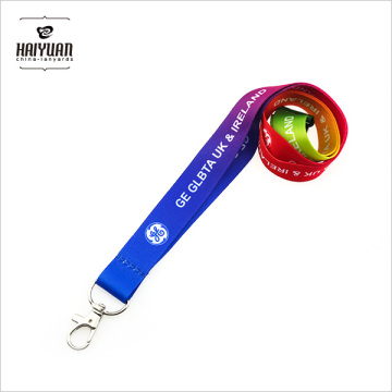Special-Purpose Dye Sublimation Lanyards for Marathon Game