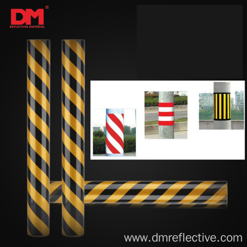 Commerical Grade Reflective Stripe Warning Tape