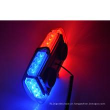 12v, 24pces * 1w Epistar conduzido e com cor opcional da tampa mini Lightbar