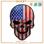 USA Flag Skull tygmärke anpassade