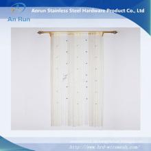 Perlen Gold Metall Wohnzimmer String Vorhang Stoff