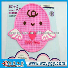 Popular custom cute pattern PVC mat for phone and cup