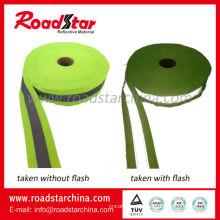 Reflektierende Kleidung Gurtband Polyester