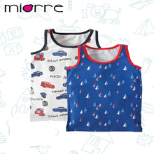 MIORRE OEM NEW 2017 COLLECTION KID'S CARTOON PRINTED COTTON ELEGANT 2 PACK DIFFERENT MODELS TANK TOP