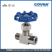 Stainless steel 304/316 swagelok needle valve Needle valve brass needle valve with high quality