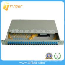 Fibra óptica divisor painel de patch PLC
