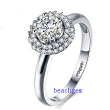 Hot Sell Jewelry- Cubic Zirconia Brass Rings (R0830)