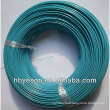 Gauge 18 50kg galvanized iron wire inside pvc coating wire