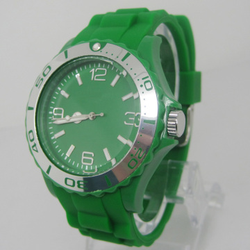 New Environmental Protection Japan Movement Plastic Fashion Watch Sj073-10