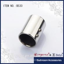 Silla magnífica de acero inoxidable / tubo para accesorios de baño / puerta de ducha de vidrio