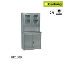 Шкаф из нержавеющей стали для хранения лекарств (HK1509)
