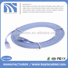 Wholesale 16 FT RJ45 Cat6 Flat Patch Cord 5M