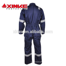 Cotton nylon flame retardant antistatic clothes for worker