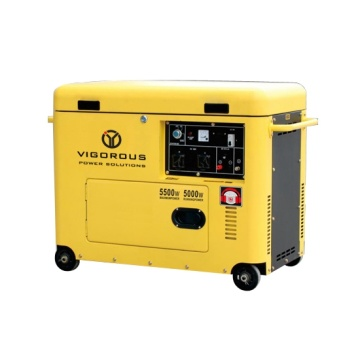 5.5KW Residential Silent Diesel Power Generator For Home