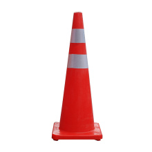 90cm Soft Flexible PVC plastic road traffic cones