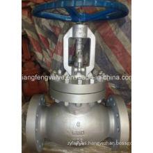 Válvula del globo del extremo de la pulgada del API de 600lb con el acero de carbón