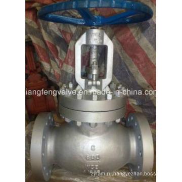 600lb API Фланцевый концевой клапан с углеродистой сталью