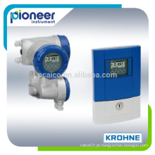 Medidor de vazão electromagnético krohne