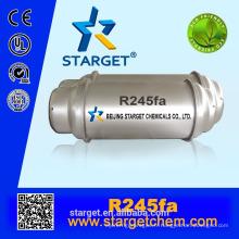 99.70% de réfrigérant nouveau gaz r245fa avec ODP zéro