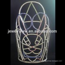 Горячий оптовый Rhinestone Halloween корону, размеры доступны