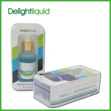 E botol kaca E-cecair cecair dari rasa Delightliquid Mint (M-701)