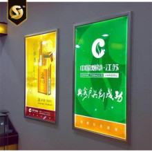 Öffnungsfähiges Snap Frame LED Slim Digitalmenü-Display