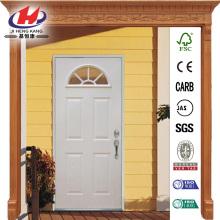 Acero imprimado Lite ventilador precolgadas puerta