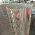 Núcleo ondulado de aluminio para paneles compuestos