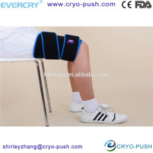 ice thigh cold wrap to surgical sport injury bandage