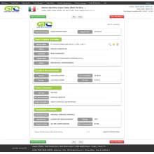 Graphite-Mexico Customs Import Datenbeispiel