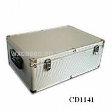 alta calidad y fuerte 630 CD discos aluminio CD caso ventas por mayor de China fabricante