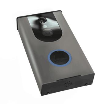 Sonnette sans fil actionnée imperméable à l'eau de sonnette sans fil de porte sans fil