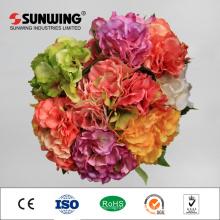 Italien Rose Bouquet 8 cm Durchmesser künstliche Blumenarrangements
