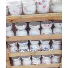 Haonai caliente venta de antigüedades de porcelana pequeña cena / arroz / tazón de sopa