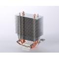Dissipador de calor industrial do servidor do radiador da soldadura da tubulação de calor da aleta