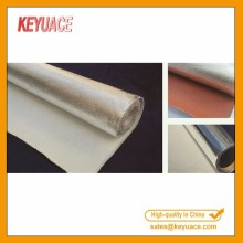 Serat tahan aluminium Foil Glass Fiber Cloth