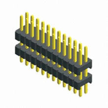 0.8mm Pitch Pin Header, Dual-row, Double Plastic Straight Type