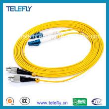 Cabo de fibra ótica FC-LC, cabo de fibra óptica
