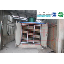 KBW Series Hot Air Vegetables and Fruits Tunnel Dryer for Ginger