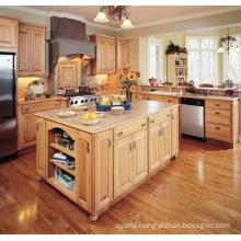 2016 Frameless Door Solid Wood Kitchen Cabinet