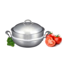 Korea 7 Ply Clad Stainless Steel Cooking Pot Steamer Set