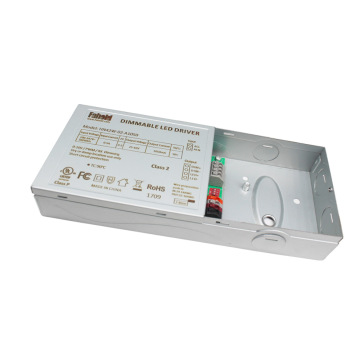 Controlador de corriente ajustable de montaje en panel LED